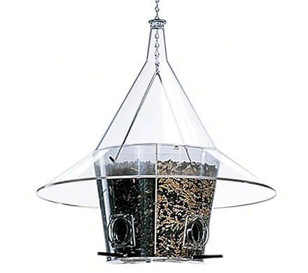 Divided 4-Seed Feeder