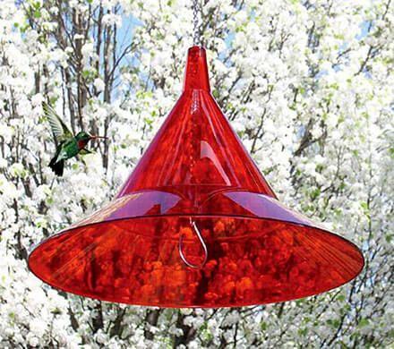 Red Plexiglas Baffle