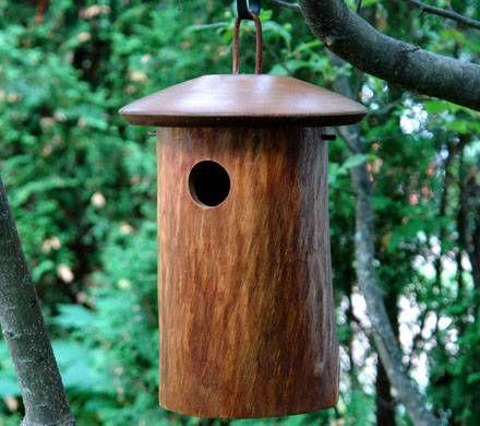 Natural Bluebird Home