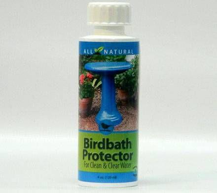 Birdbath Water Protector