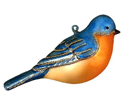 Colorful Bluebird Ornament