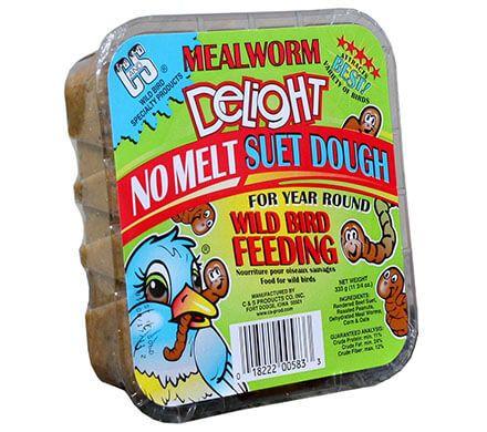 Mealworm Suet Dough