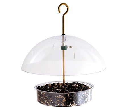 "10"" Dome Bird Feeder"