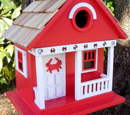 Red Cottage Birdhouse