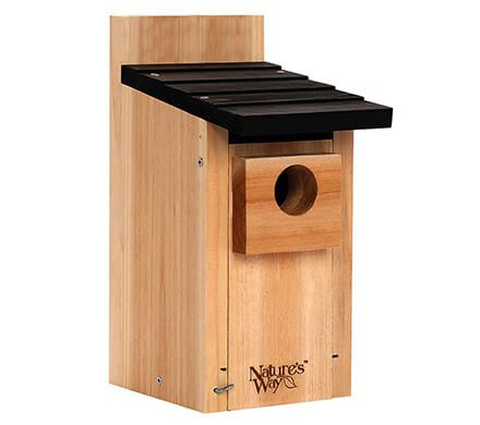 Bamboo Bluebird House