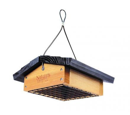 Cedar Upside Down Feeder