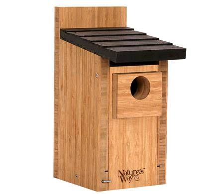 Cedar Bluebird Home with Predator Guard