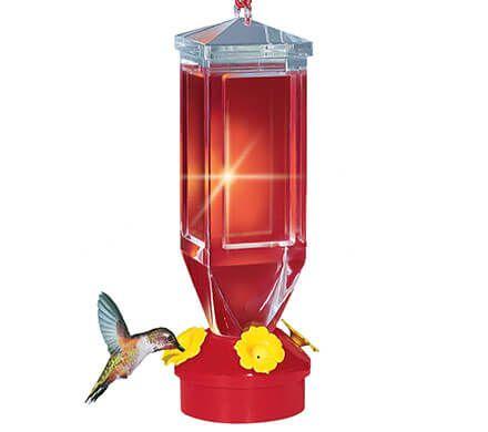 Lightweight Hummingbird Feeder