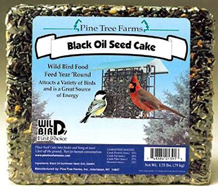 Black Oil Sunflower Seed Cake (1.75lbs)