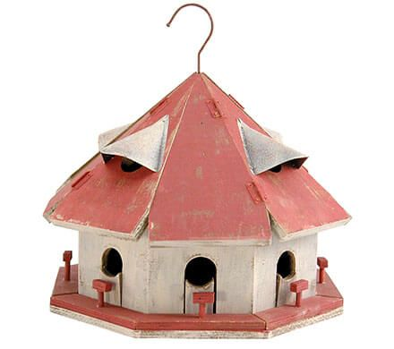 8-Apartment Bird House