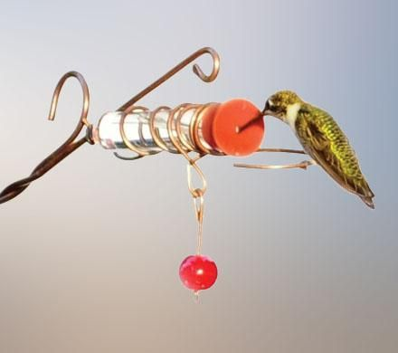 Whimsy Wand Hummingbird Feeder