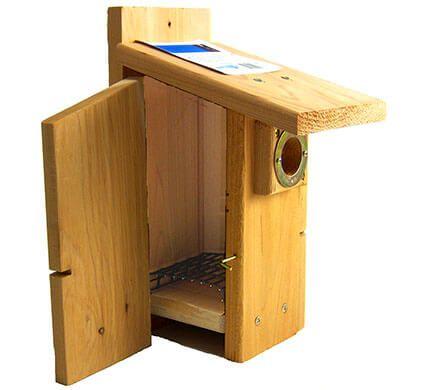 Easy Open Bluebird Nesting Box