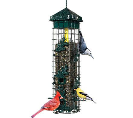 Weight-Activated Squirrel-Proof Bird Feeder