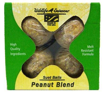 Peanut Blend Suet Balls (4 per box)