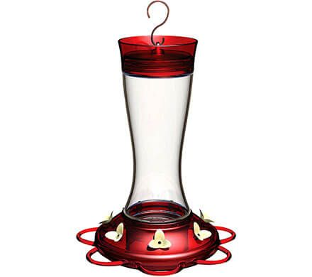Hummingbird Feeder with Built-In Ant Moat