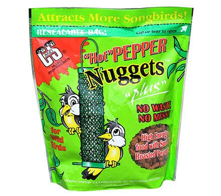 Hot Pepper Suet Nuggets