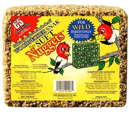 Woodpecker Snacks (2.4 lbs)