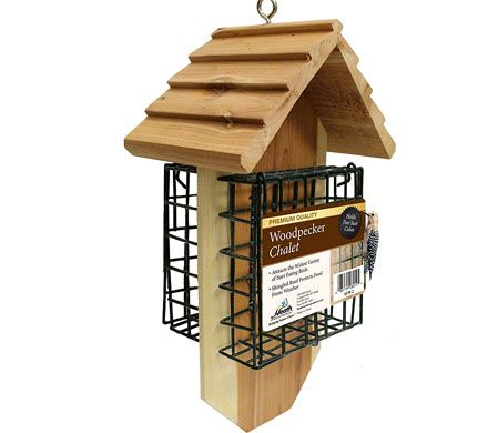 Redwood Double Suet Feeder