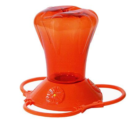 Lightweight Orange Oriole Feeder
