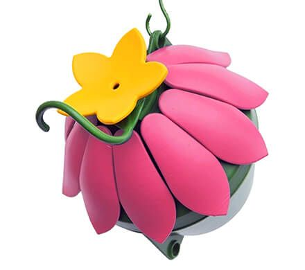 Colorful Flower Hummingbird Feeder