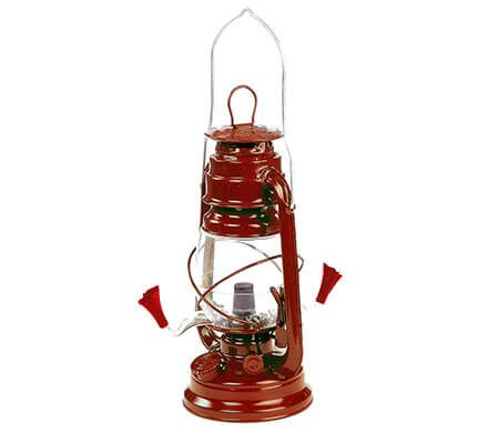 Red Lantern Hummingbird Feeder