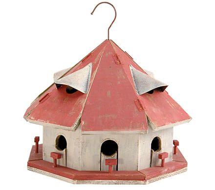 8-Apartment Bird House