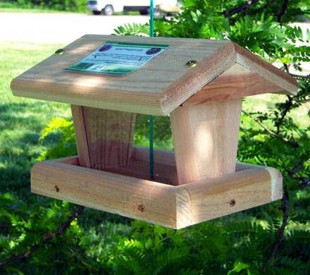 Large Cardinal Bird Feeder